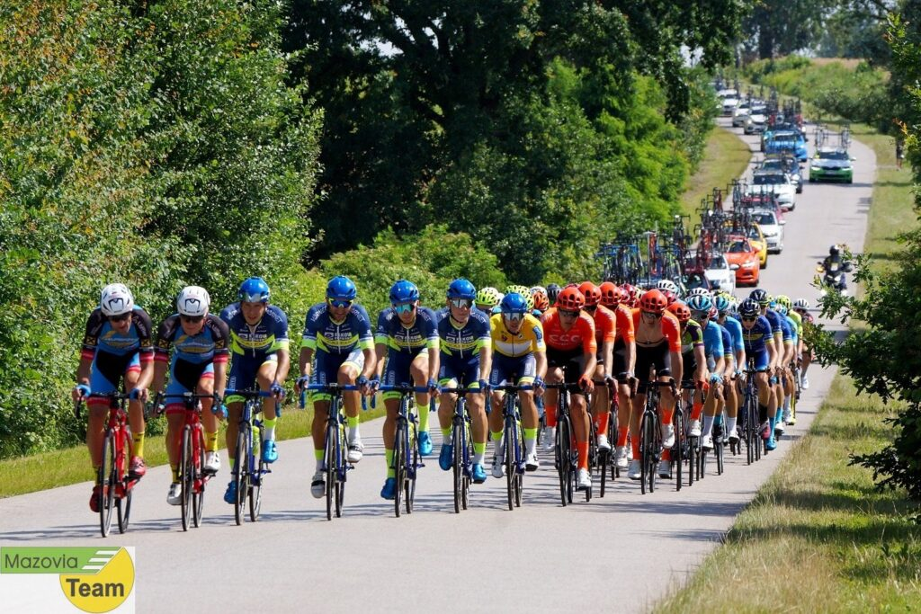 Michael Kukrl Elkov Kasper Czech Cycling Team. Koła Karbonowe No Limited dookoła Mazowsza (3)